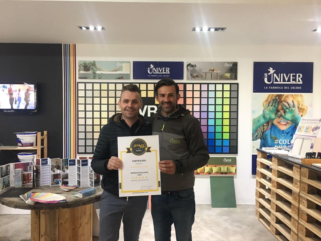 VR Progetto Colore - Winner 2016