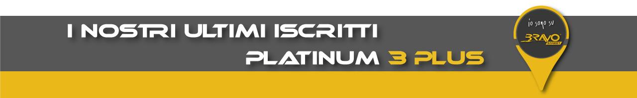 I nostri ultimi iscritti Platinum 3 Plus